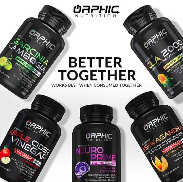 Weight Loss Supplement Vitamin Metabolism Booster Orphic Nutrition